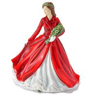 ROYAL DOULTON DECK THE HALLS FIGURINE
