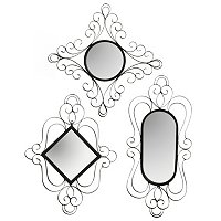 S/3 Brookton Wall Mirrors