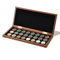 1913-1938 BUFFALO NICKEL DATE SET WITH COLLECTORS BOX