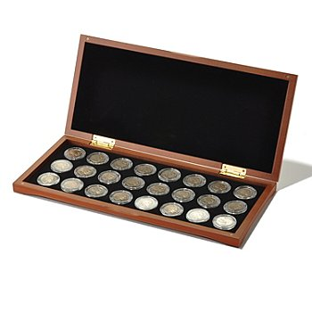 433-087 - 1913-1938 & 2005 Circulated VG-XF 24-Piece Buffalo Nickel Set w/ Collector's Box