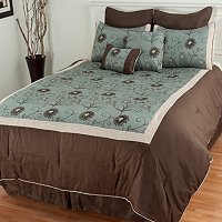 North Shore Linens Delaney 8pc Comforter Set