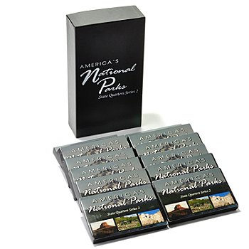 433-150 - America's National Parks 2010-2012 Set-of-60 Quarter Collection