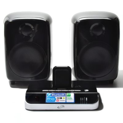 433-245 - iLive® Wireless Plug & Play Bluetooth® Dock & Speakers