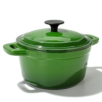 433-276 - Cook's Tradition™ Round Enamel Cast Iron Dutch Oven w/ Lid