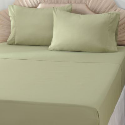 "433-305 - Cozelle® ""Carolina"" Microfiber Four-Piece Sheet Set"