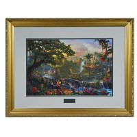 "THOMAS KINKADE ""JUNGLE BOOK"" LE FRAMED PRINT"