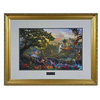 433-315 - Thomas Kinkade ''Jungle Book'' 18'' x 27'' Limited Edition Framed Print