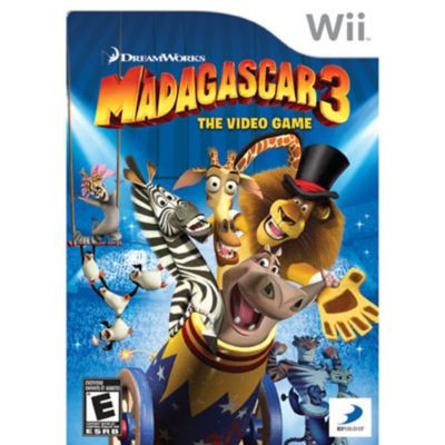 433-365 - Madagascar 3: The Video Game Wii Game