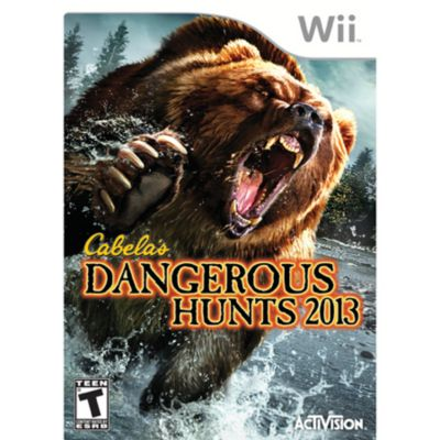 433-494 - Cabela's Dangerous Hunts 2013 Wii