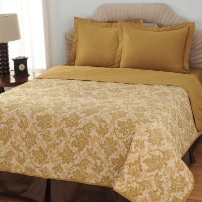 433-709 - North Shore Linens™ 600TC Egyptian Cotton SureSoft™ Three-Piece Coverlet Set