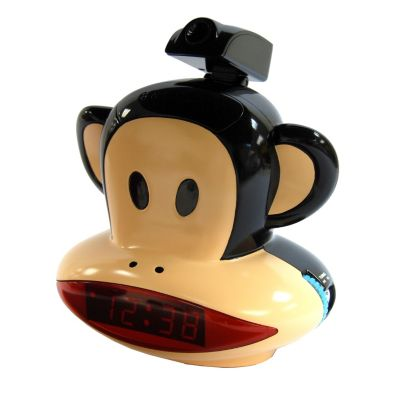 433-783 - Julius the Monkey Projection AM/FM Alarm Clock Radio