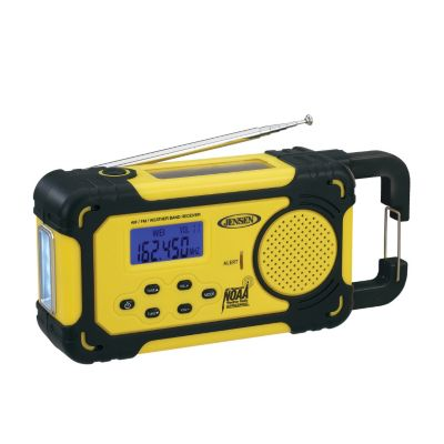 433-815 - Jensen AM/FM Weather Band Radio w/ Weather Alert
