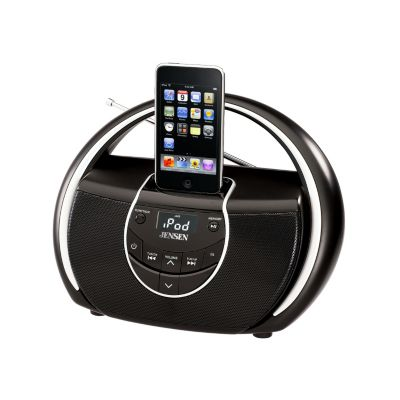 433-821 - Jensen Portable Docking Music System for iPod