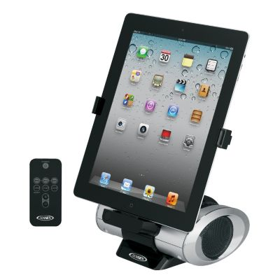 433-833 - Jensen iPad, Pod & iPhone Docking Digital Music System w/ Night Light