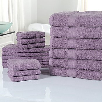 433-913 - Cozelle® Ultra-Absorbent 100% Cotton 18-Piece Towel Set