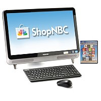 "Toshiba All in one Desktop with 23"" monitor bundle with software"