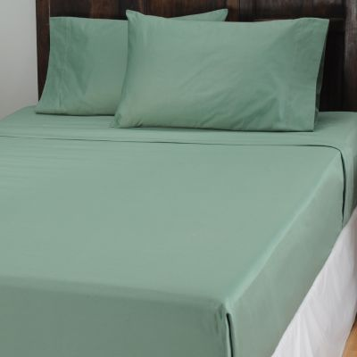 434-052 - North Shore Linens™ 1000TC Egyptian Cotton Marrow Stitch SureSoft™ Four-Piece Sheet Set
