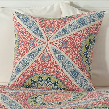 434-067 - North Shore Linens™ ''Zola'' Cotton 20'' x 20'' Decorative Pillow