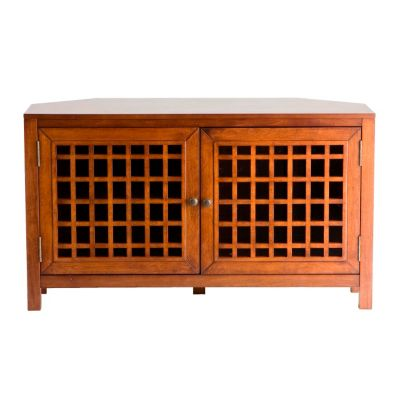 434-135 - Holly & Martin™ Narita Walnut Corner Media Cabinet