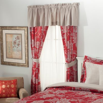 434-364 - Cozelle® Floral Five-Piece Window Set