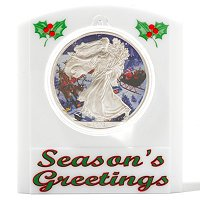 2012 Silver Eagle Holiday Theme - Santa Claus Colorized