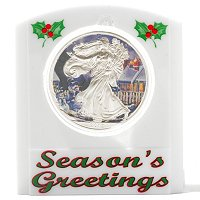 2012 Silver Eagle Holiday Theme - Snowman Colorized