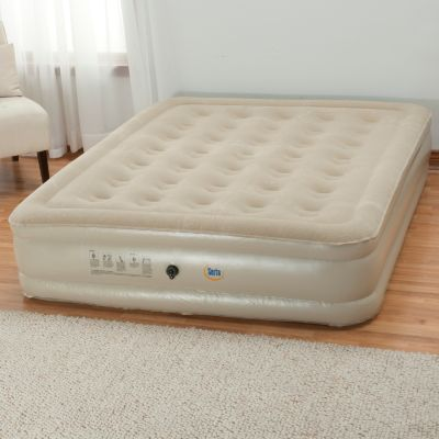 "434-662 - Serta® Perfect Sleeper® 17"" Profile Air Mattress w/ External Pump"