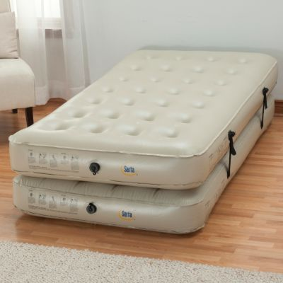 434-663 - Serta® Perfect Sleeper® Three-in-One Air Mattress w/ External Pump