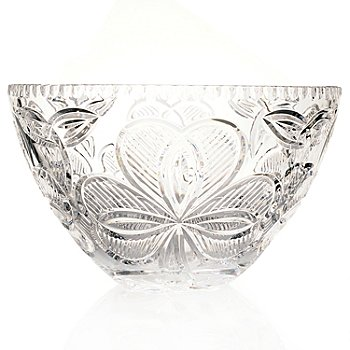 434-825 - House of Waterford® Crystal Irish Shamrock 10-3/4'' Bowl