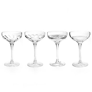 434-838 - Waterford® Crystal Mixology 6 oz Set of Four Coupes