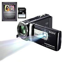 Sony HDR-PJ200/B Full HD Camcorder with Projector Black