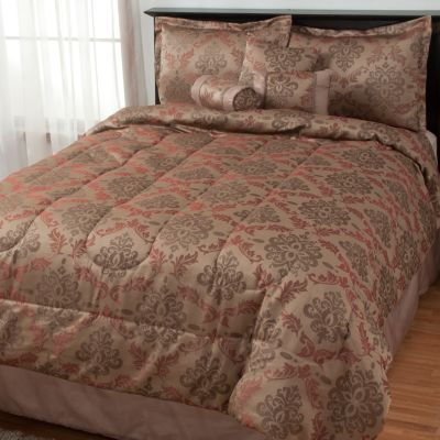 "434-944 - North Shore Linens™ ""Clement"" Seven-Piece Bedding Ensemble"