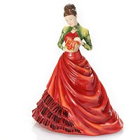 Royal Doulton Holiday Petite Figurine of the Year