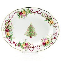 Royal Albert Old Country Rose Christmas Platter
