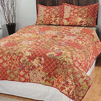 434-978 - North Shore Linens™ ''Stratford'' Three-Piece Coverlet Set