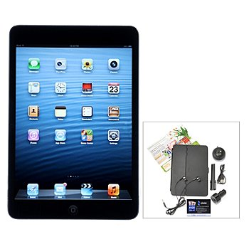 435-018 - Apple iPad Mini 7.9'' LED Wi-fi & 4G Tablet w/ Accessories & Two Gift Cards