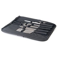 Berkendorf 9 Piece Knife Set with Folding Carrying Case