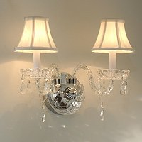 Gallery Germaine Crystal Wall Sconce