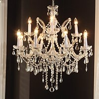 Gallery Sandy Crystal Chandelier