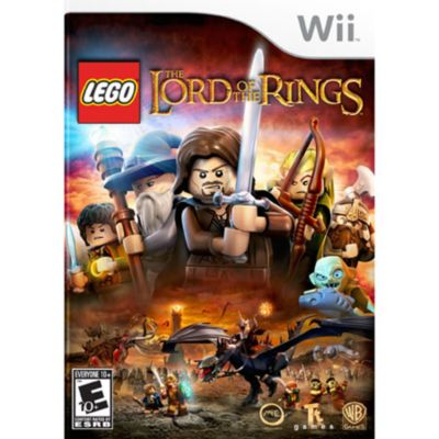 435-076 - Lego Lord of the Rings Nintendo Wii Game
