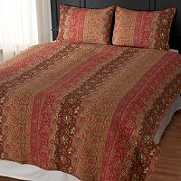 "North Shore Linens ""Sahara"" Three-Piece Coverlet Set"