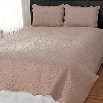 435-142 - North Shore Linens™ ''Brisbane'' Three-Piece Coverlet Set