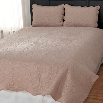 "435-142 - North Shore Linens™ ""Brisbane"" Three-Piece Coverlet Set"