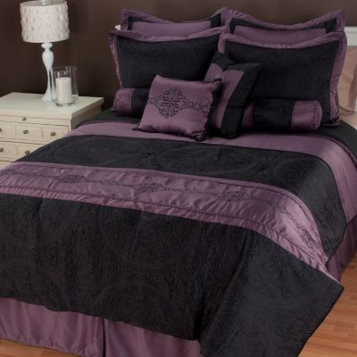 "435-217 - North Shore Linens™ ""Cordoba"" 10-Piece Bedding Ensemble"
