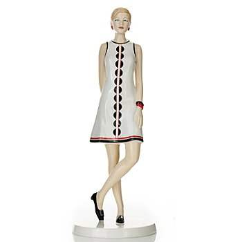 435-231 - Royal Doulton® Fashion of the Decades: 1960s ''Penny'' Bone China Figurine - Signed