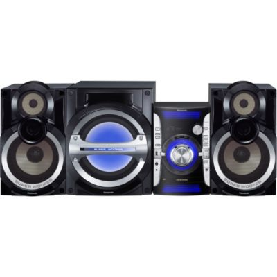 435-352 - Panasonic SC-AKX73 2.1 Channel 850W System w/ 3-Way Speakers & Subwoofer
