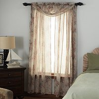 "Laura Ashley ""Stowe"" Three-Piece Window Set"