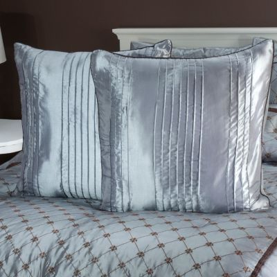 "435-464 - North Shore Linens™ ""Alexa"" Euro Decorative Pillow Pair"