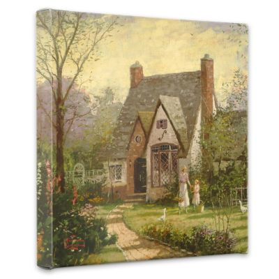 "435-468 - Thomas Kinkade ""The Cottage"" Gallery Wrap"