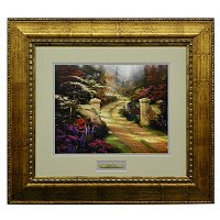 "Thomas Kinkade ""Spring Gate"" Prestige Collection"